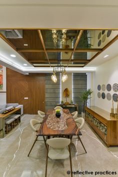 With the given gist the architecture of this residence has been developed, it's an asymmetrical expression of fairly simple detailing. House Ceiling Design, Bedroom False Ceiling Design, House Design, Fall Celling Design, Best False Ceiling Designs, Wooden Ceiling Design, Simple False Ceiling Design, Kitchen Room Design, Home Room Design
