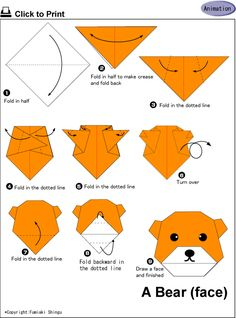 easy_origami_bear_carft_preschool