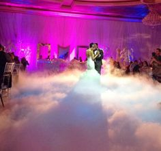We Now Have Dancing On The Clouds Low Lying Dry Ice Effect For Your