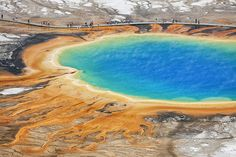 Grand Prismatic Spring (Wyoming)