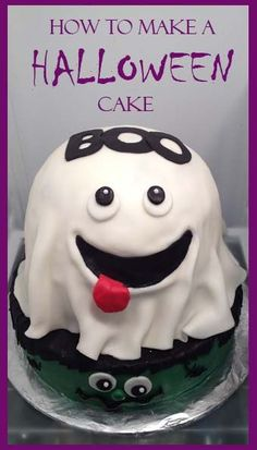 How to make a Halloween Cake @Julie Lloyd  this one looks easy!