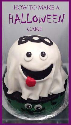 Spooky Cake! How to make a Halloween Cake