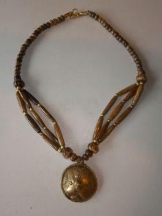 1 Halskette aus Indien Kette Schmuck Hippie Goa Nr.3 neu Folkloreschmuck Ethno
