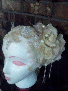 Art Nouveau Headdress 1920s Deco Hair Piece
