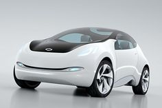 EMx electric car concept by RSM, a joint venture of Renault and Samsung.