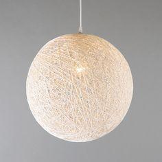 waar nu de staande lamp in de hoek staat naast de bank, zou je deze hanglamp wellicht kunnen hangen, met daaronder de poef.. :-)