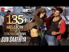 Sun Saathiya Full Video Disney s ABCD 2 Varun Dhawan Shraddha Kapoor Sachin Jigar love song Abc Songs, Karaoke Songs, Kids Songs, Love Songs, Hindi Dance Songs, Dance Music, Youtube Songs, S Youtube, I Need You Song