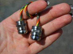 Steel begleri fidget toys every day carry begleris beads