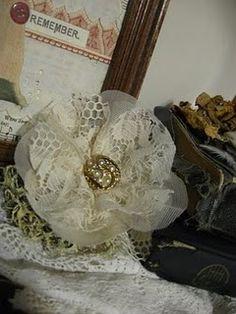 lace flower tutorial