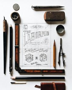 lettering typography banner