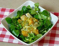 Matjessalat mit Curry und Mandarinen - Katha-kocht!