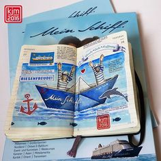 #meinschiff5 #meinschiff #tuicruises #kreuzfahrt #cruise #wohlfühlflotte #gewinnspiel  #artjournal #artjournaling #visualjournal #journaling #moleskine #drawingoftheday #pictureoftheday #picoftheday #illustratedjournal #illustrateddiary #illustriertestagebuch #illustration #drawing #draw #artist #sketch #sketchbook #instaart #maritime #creative #graphic #artoftheday #diewocheaufinstagram . .  Thank you all who kept the fingers crossed :-)