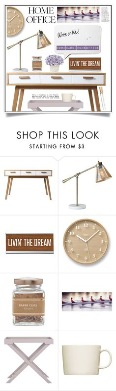 """Work Hard: Home Office"" by ewa-naukowicz-wojcik ❤ liked on Polyvore featuring interior, interiors, interior design, home, home decor, interior decorating, Adesso, Lemnos, Forever 21 and Safavieh"