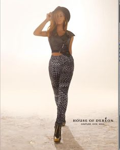 Beyonce Struts Her Stuff In Own Designs For House Of Dereon's Fall Lookbook (PHOTOS)