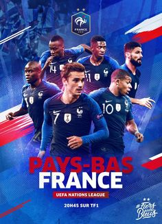 France, the Netherlands, Wales and Denmark. Announcement of the date of November the League of Nations games - the river Sports Graphic Design, Graphic Design Posters, Sport Design, Soccer Pro, Soccer Players, Girls Soccer, Soccer Match, Photoshop, Intense Games