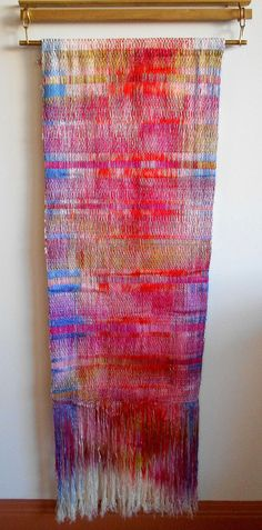 Double-Woven Wall Hanging via Etsy.