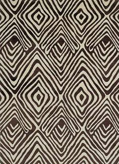 rug. Would look awesome in a white walked room with a pop of colour!