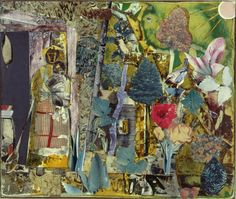 Art © Romare Bearden Foundation/Licensed by VAGA, New York, NY Madeleine Jones' Wonderful Garden (Mecklenburg County), 1977. Collage of various papers with ink, graphite, and surface abrasion on fiberboard, 13 x 15 ½ inches. Constance and Frederick Brown, Belmont, Massachusetts. Image Courtesy National Gallery of Art, Washington.