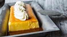 Karamellpudding Norway Food, Norwegian Food, Scandinavian Food, Flan, Sweet Recipes, Caramel, Sweets, Cheese, Baking