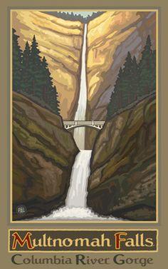 PAL-0026 Multnomah Falls