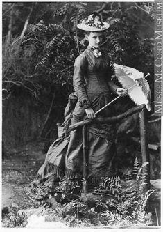 Miss Jessie Notman, Montreal, QC, 1877
