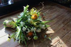 100% British grown winter bouquet by Lock Cottage Flowers, Surrey UK https://www.facebook.com/LockCottageFlowers
