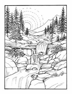 Inkspirations For A Happy Heart Coloring Book Pages