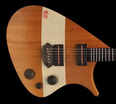THE TAO GUITAR | SERGE MICHIELS of Tao Guitars 2014... like the pickups and bridge