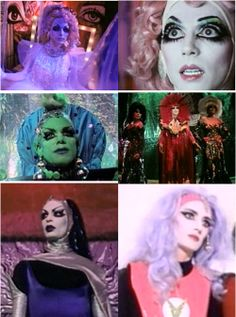 If you ever need costume inspiration, watch Vegas in Space.     Wardrobe Orgasm = Worgasm