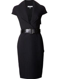 KAUFMANFRANCO - belted cap sleeve dress 6