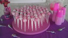Breast Cancer Fundraiser Cake Pops