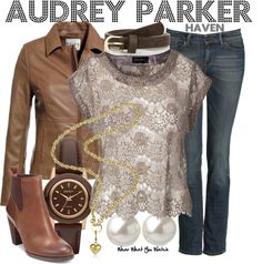 Inspired by Emily Rose as Audrey Parker from Haven.