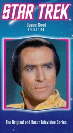 Star Trek - The Original Series Episode 24: Space Seed [VHS] @ niftywarehouse.com #NiftyWarehouse #StarTrek #Trekkie #Geek #Nerd #Products