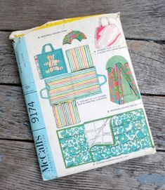 Items similar to McCall's 9174 - Vintage Cute Baby and Closet Items - Changing Pad, Tote Bag, Diaper Holder, Hanger Cover, Sleeping Bag - - UNCUT on Etsy Craft Patterns, Cool Patterns, Diaper Holder, What Is Advertising, Changing Mat, Baby Boutique, Sleeping Bag, New Moms, Diy Gifts