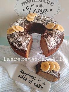 Las Recetas de Amélie: Bizcocho de plátano