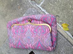 Vintage Morris Moskowitz MM Fold-over Paisley by ItsallforHim