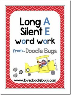 This is a phonetic unit on long a – silent e. Also known as Sneaky E. This unit focuses just on the long vowel a. Buy the other sets.Long I . Reading Words, Reading Practice, 2nd Grade Reading, Reading Help, Word Study, Word Work, Elementary Shenanigans, Silent E, Vowel Activities