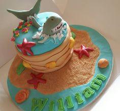 Scary shark cake I made for William