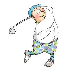 Gordon Glf-people Stamp Golf Cards, Art Impressions Stamps, Image Digital, Card Sentiments, Illustrations, Digi Stamps, Watercolor Cards, Masculine Cards, Funny Cards