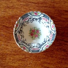 Decorator Bowl by Teresa Welch - The China Closet - Signed & Dated #TheChinaCloset