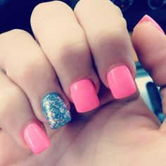 pink with accent<3