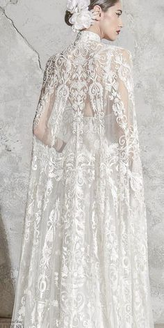 Country Wedding Dresses, Princess Wedding Dresses, Colored Wedding Dresses, Elegant Wedding Dress, Dream Wedding Dresses, Designer Wedding Dresses, Bridal Dresses, Wedding Dress Cape, Bridal Cape