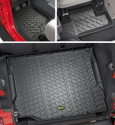 Quadratec® Ultimate All Weather Floor Liner Triple Combo