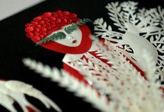 Elsa Mora-three dimensional papercut