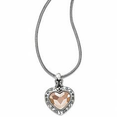 Rosy Heart Necklace