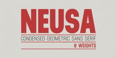 Neusa™ font download