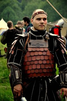 Wish I could find more pics of this armour. - Krushak - Czech Larp