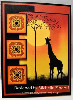On Safari - MZ by Zindorf - Cards and Paper Crafts at Splitcoaststampers