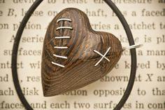 Stitched Heart Pendant