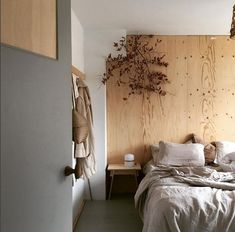 my scandinavian home: a bedroom in neutral colours, infused with warmth and harmony